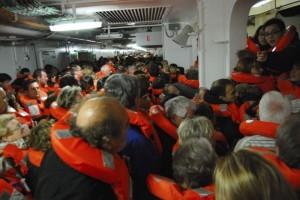 Abandon Ship Crowd